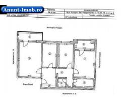 Anunturi Imobiliare Vand apartament 3 camere, et.2, in Focsani, Bd.Independentei