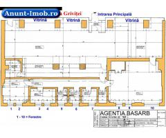 Anunturi Imobiliare Inchiriez spatiu comercial vad f. bun 202 mp Pasajul Basarab