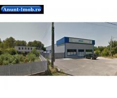 Anunturi Imobiliare Spatiu industrial si teren 3239 mp, Ulmi