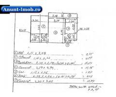 Anunturi Imobiliare Apartament 2 camere,  43.07 mp, Hunedoara