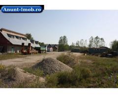 Anunturi Imobiliare Vand baza productie langa orasul Gaesti, DB
