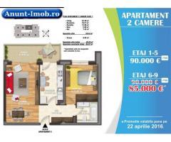 Anunturi Imobiliare Promotie: 2 camere, 69 mp, metrou Timpuri Noi