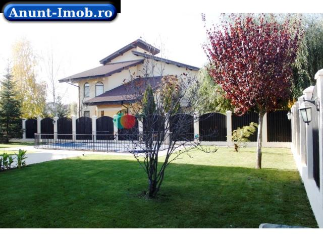 Anunturi Imobiliare Vila individuala cu piscina in zona Pipera