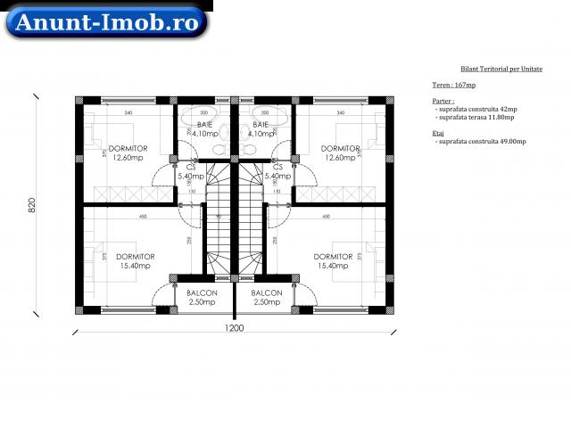 Anunturi Imobiliare Vila superba P+1 la cheie 3 camere