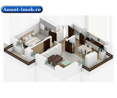 Anunturi Imobiliare 2 camere in constructie noua tip vila