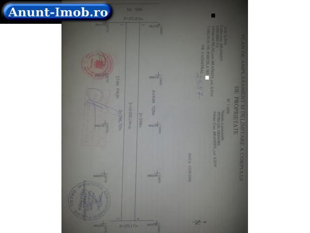 Anunturi Imobiliare Teren Extravilan Branesti Judetul Ilfov